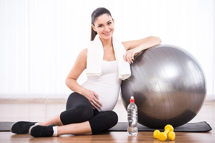 ginnastica dolce durante la gravidanza