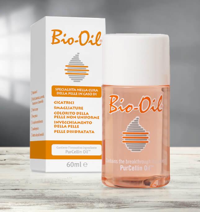 Bio Oil per smagliature rosse