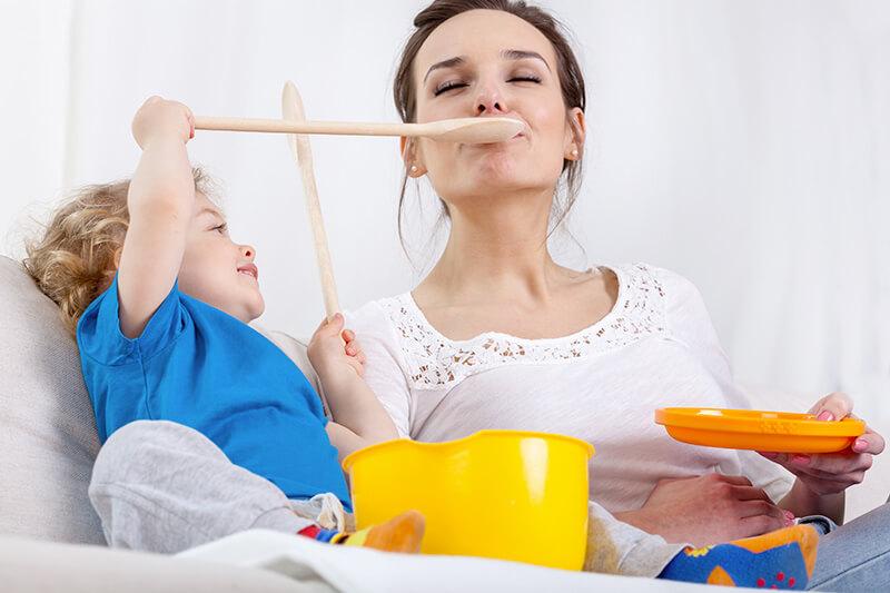 Spuntini durante allattamento
