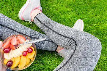 frutta come alimentazione sportiva