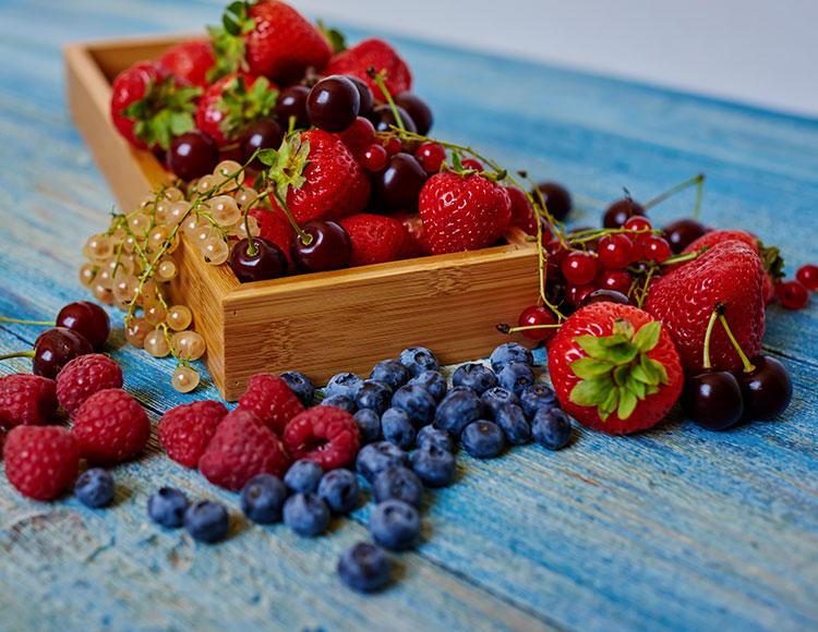 frutta rossa per nutrire la pelle in gravidanza
