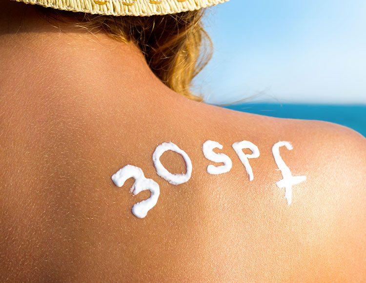 protezione solare 30 spf